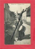 CPA - Froissy   -(Oise) - Le Tambour De La Ville - Froissy