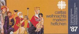 BERLIN  DCV-MH 6b Mit 5x MiNr. 797, Postfrisch **, Privates Markenheftchen Des Dt. Caritasverbandes, Weihnachten 1987 - Blocchi