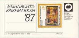 BERLIN  DPW-MH 8b Mit 5x MiNr. 797, Postfrisch **, Priv. Markenheftchen Des Parität. Wohlfahrtsverbandes, Weihnacht 1987 - [5] Berlino