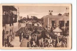 12417 LIBIA LA FESTA DEL MILLUD - TIMBRI CIRENE CIRENAICA - Libia