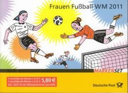 BRD MH 84 Mit 4x MiNr. 2857-2858, Postfrisch **, Frauenfußball-WM 2011 - Blocchi