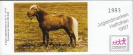 BRD SDJ-MH Mit 5x MiNr. 1921, Postfrisch **, Privates Markenheftchen Stiftung Dt. Jugendmarke, Pferde 1997 - Blocchi