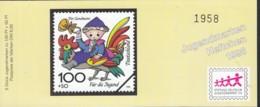 BRD SDJ-MH Mit 5x MiNr. 1991, Postfrisch **, Privates Markenheftchen Stiftung Dt. Jugendmarke, Sandmann 1998 - Blocchi