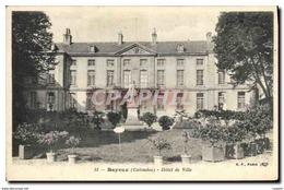 CPA Bayeux Calvados Hotel De Ville - Bayeux