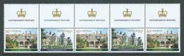 Australia 2013 Government Houses Marginal Strip Of 5 MNH - 2010-... Elizabeth II