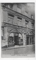 (RECTO / VERSO) AMIENS EN 1929 - LA MAISON DU SAGITTAIRE - FLAMME DAGUIN - CPA VOYAGEE - Amiens