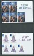 Australia 2013 Christmas $2.35 & $1.70 Internationals Self Adhesive Sheetlets Of 5 MNH - 2010-... Elizabeth II