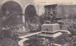 PERPIGNAN - STATUE DE LA PEUSEE - INTERIEUR DE LA MAIRIE. FRANCE POSTALE VOYAGEE 1908. -LILHU - Perpignan