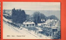 MYD-15 Nyon  Paysage D'hiver  Phototypie 9884, Non Circulé - VD Vaud