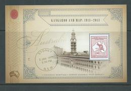 Australia 2013 $10 Kangaroo & Map Miniature Sheet MNH - Mint Stamps