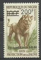 Niger 1960 Mi 16 MNH ( ZS5 NGR16 ) - Big Cats (cats Of Prey)