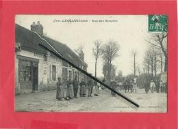 CPA -  Léglantiers   - Rue Des Soupirs - France