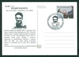 Croatia 2019 Olympics Rowing Velimir Valenta Helsinki 1952 Gold Medal - Croazia