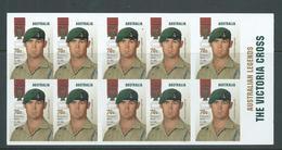 Australia 2013 Victoria Cross $7 Cameron Baird Booklet MNH - 2010-... Elizabeth II