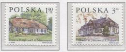 POLAND 2001 Polish Manor Houses, Cottage, Village, Building, Nature MNH** - 1944-.... République