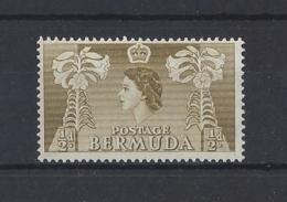 "BERMUDA.....QUEEN ELIZABETH II.(1952-NOW).."" 1953..""....HALFd......SG135a...MH.. - Bermudes"