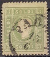 AUSTRIA / LOMBARDO-VENEZIA 1858 - PADOVA Cancel - ANK LV 8 II - 3 Soldi - 1850-1918 Empire
