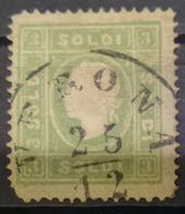 AUSTRIA / LOMBARDO-VENEZIA 1858 - VERONA Cancel - ANK LV 8 II - 3 Soldi - Usados