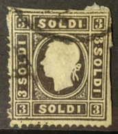 AUSTRIA / LOMBARDO-VENEZIA 1858 - Canceled - ANK 7 II - 3 Soldi - Usados