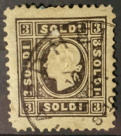 AUSTRIA / LOMBARDO-VENEZIA 1858 - Canceled - ANK 7 II - 3 Soldi - 1850-1918 Empire