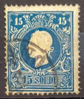 AUSTRIA / LOMBARDO-VENEZIA 1858 - Canceled - ANK LV 11 II - 15 Soldi - 1850-1918 Empire