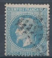N°29 VARIETE ET OBLITERATION. - 1863-1870 Napoléon III Lauré