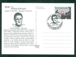 Croatia 2019 Olympics Football Franjo Sostaric 1948 London Silver Medal - Croazia
