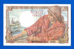 20  Fr  Du  28/1/1943 - 1871-1952 Antichi Franchi Circolanti Nel XX Secolo