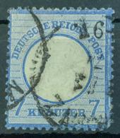DEUTSCHES REICH 1872 - Canceled - Mi 26 - 7kr - Grosses Brustschild - Oblitérés