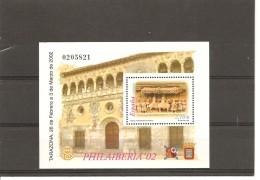 España/Spain-(MNH/**) - Edifil 3881 - Yvert BF 104 - Blocs & Hojas