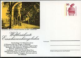 Bund PP68 B2/001 SCHWEBEBAHN WUPPERTAL 1974  NGK 5,00 € - Cartoline Private - Nuovi