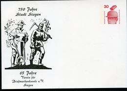 METALLARBEITER BERGMANN Siegen 1974  Bund PP68 B2/005  NGK 3,00 € - Berufe