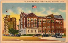 Kansas Kansas City Scottish Rite Temple And Huron Building Curteich - Kansas City – Kansas