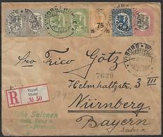 Finnland - R - Brief  03.06.1920 / Viipuri / Viborg Nach Nürnberg ( Deutschland / Siehe Fotos - Finland