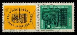 DDR ZD Nr WZd 118 Gestempelt WAAGR PAAR X8EB47E - [6] Repubblica Democratica