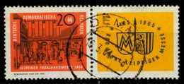 DDR ZD Nr WZd 120 Gestempelt WAAGR PAAR X8EB472 - [6] Repubblica Democratica