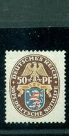 Deutsches Reich, Wappen Der Länder Nr.401 Falz * - Gebraucht