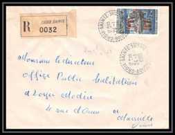 Lettre-1288 Bouches Du Rhone N°1506 Chateau De Val Recommandé Gare De Croix-Sainte Pour Marseille 1967 - 1961-....