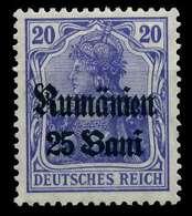 BES 1WK D-MV RUMÄNIEN Nr 11b Ungebraucht X774386 - Occupazione 1914 – 18