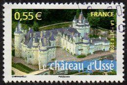 Oblitération Cachet à Date Sur Timbre De France N° 4161,- Portrait De Région - Le Château D'Ussé (Indre Et Loire) - France
