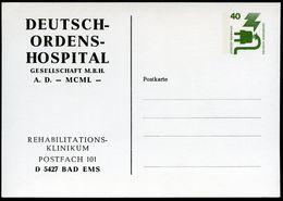 Bund PP69 B2/001 DEUTSCH-ORDENS-HOSPITAL BAD EMS 1981  NGK 6,00 € - BRD