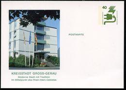 GROSS-GERAU NEUES STADTHAUS 1976 Bund PP69 B2/005  NGK 4,00 € - Architettura