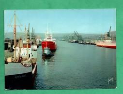 76 Rouen Port Avec Cargo Port De Bouc - Koopvaardij