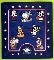 7 Pin's BD Disney  Mickey Minnie Donald Pluto Dingo Tic Tac (Équipage En Croisière) - #599 - Disney