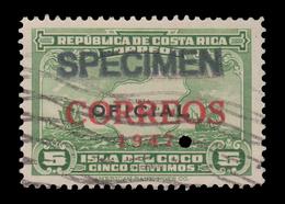 RARE COSTA RICA SPECIMEN STAMP 1947 SCOTT # 247. - Costa Rica