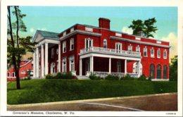 West Virginia Charleston Governor's Mansion Curteich - Charleston