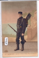 MILITARIA- ARMEE BELGE- REGIMENT DU GENIE- MINEUR- TENUE DE CAMPAGNE - Regimenten