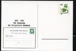 Bund PP69 C2/006 100 J. HELGOLAND-POSTKARTE 1975  NGK 6,00 € - Cartoline Private - Nuovi