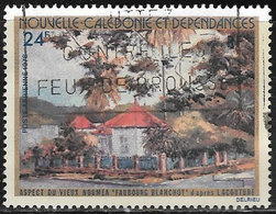 New Caledonia SG607 1978 Views Of Old Noumea 24f Good/fine Used [40/32939/7D] - Nieuw-Caledonië