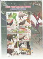 Indonesia 2009, Bird, Birds, M/S, MNH** - Vögel